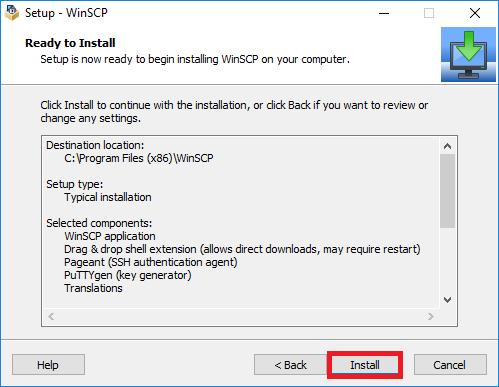 Remote file transfer on Windows using WinSCP | Computer Science